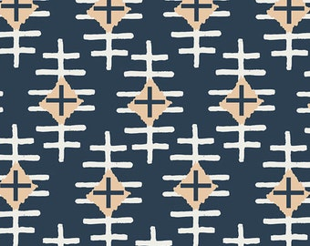 Bound - Path Marker Slate - April Rhodes - Art Gallery Fabrics (BOU-7042)