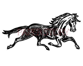 Horse Graphic