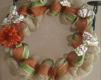 Fall is Here Wreath