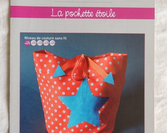 Form creative sewing Recreatys star pouch
