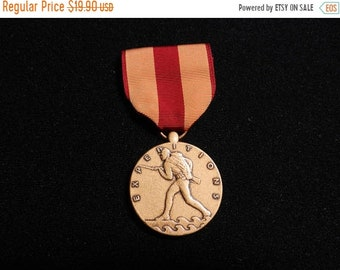 Spring Sale Vintage US Marine Corps Expedition Medal
