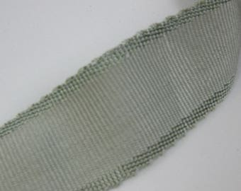 The Sommers Collection, Flat Trim/Tape. Blue Gray. Perfect for pillows and drapery panels.