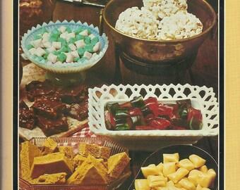 """Vintage """"candy cookbook"""" 1987"""