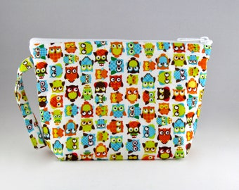 Hootie Hoot Makeup Bag - Accessory - Cosmetic Bag - Pouch - Toiletry Bag - Gift