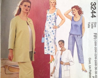 McCall's 3244 Sewing Pattern  UNCUT