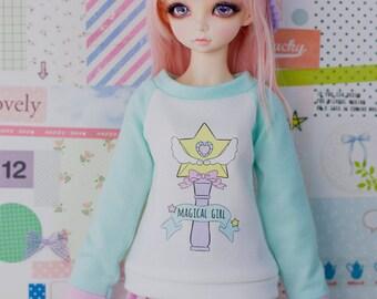 Slim MSD Minifee or SD BJD Sweater - Magical Girl