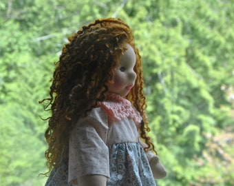 Waldorf-inspired art doll