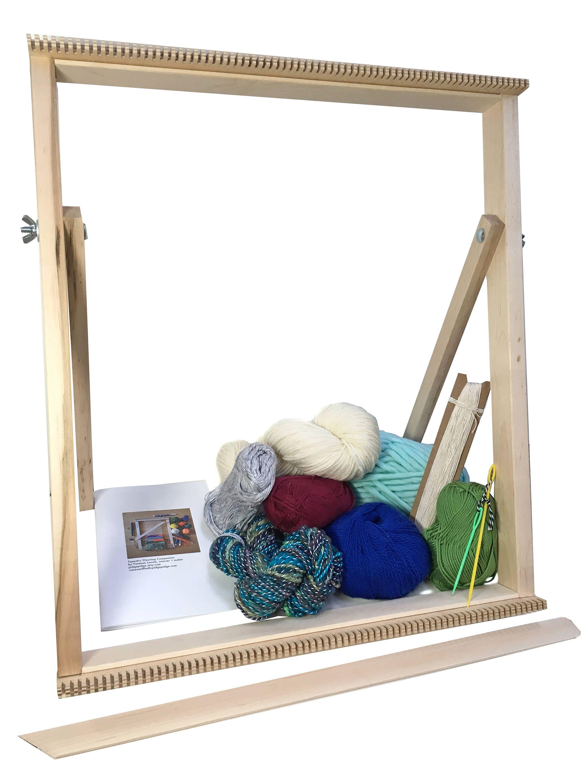 Tapestry Weaving Standing Loom Kit Large Beginner Tapestry