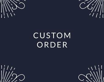 custom order for c