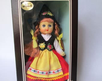 Dolls of All Nations No. 142 Switzerland Vintage NRFB
