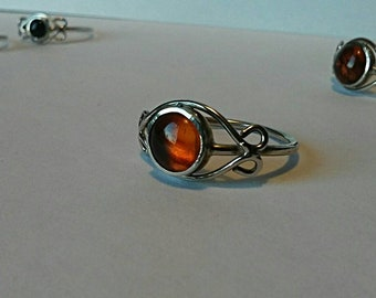 The Eye Silver Ring.