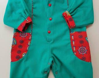 D'inspiration Vintage nautique enfant costume environ 18 mois