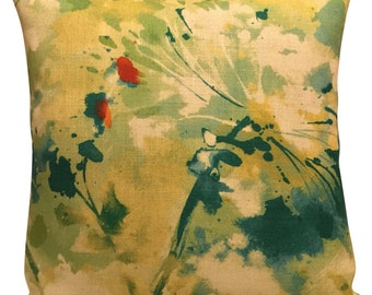 Sanderson Simi Spring Abstract Cushion Cover