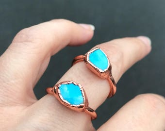 Turquoise Rings, Turquoise jewelry, December birthstone, birthstone jewelry