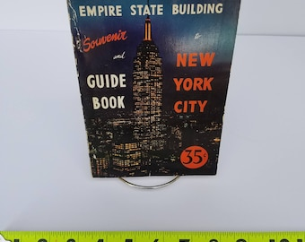 1954 Empire State Building Souvenir and Guide Book for New York City