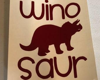 Winosaur Decal