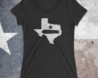 Texas Come and Take It Ladies' Triblend Shirt