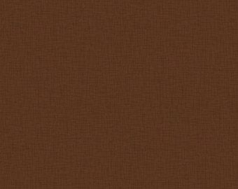 """Patrick Lose - Brown titled """" Sackcloth"""" - 100% quilting cotton - Fabric BTY - fat quarter - half yard - brown blender - quilting cotton"""
