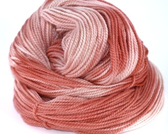 Superfine Merino Wool Silk Blend, +/-215 yards, 3.5 ounces/100 grams, Worsted Weight, Hand-dyed, Yarn