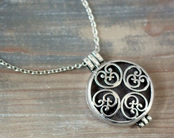 Aromatherapy Jewelry, Essential Oil Diffuser Necklace, Jewelry for Oils, Aromatherapy Pendant, Essential Oil Accessory, Mother's Day gift