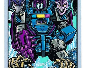 2014 BotCon 20th Anniversary Chase Card Transformers Unique Collectible Item Rare