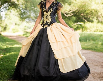 The Dutchess Chiffon Ballgown