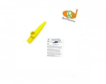 Children's Kazoo w/Learn to Play Educational Music - (A-Tisket, A-Tasket) #RSDY