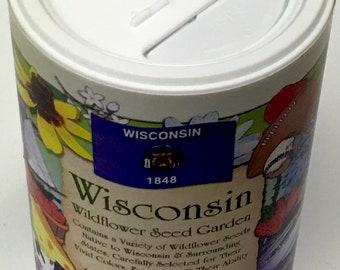 Wisconsin Garden Shaker Can