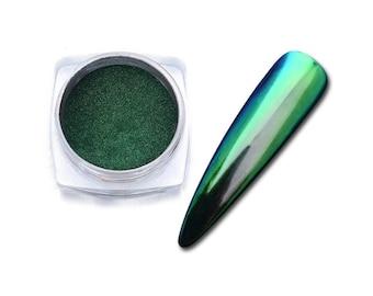 Green Chameleon dark creations effect resin pigments