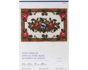 Elegant Roses Latch Hook Kit (Pre-Order)