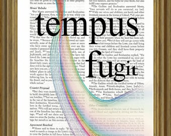 Tempus Fugit on Bible page