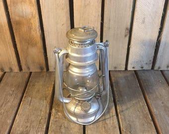 Small Silver Vintage Meva Lantern