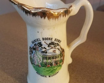 Daniel Boone Home Creamer Pitcher