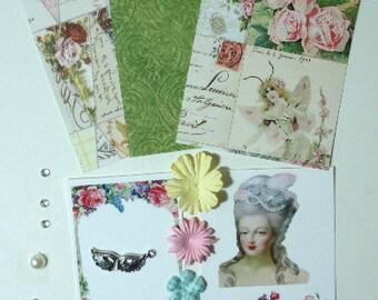 Artist Trading Card Kit Marie Antoinette