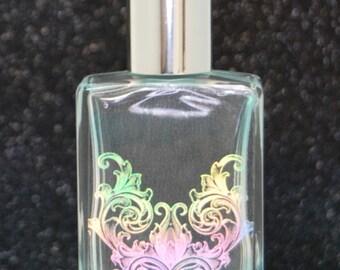 Cherry Blossom Perfume Oil w/ Holographic Design