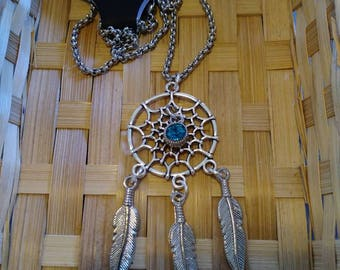Deam Catcher Jewel Necklace