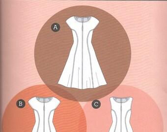 Davie Dress Pattern by Sewaholic, 1503 Sizes 0-20, Knit Dress Pattern
