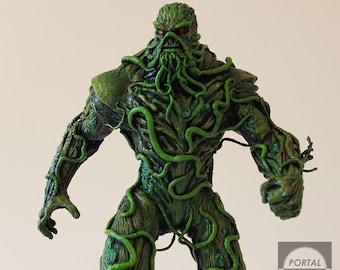 """Swamp Thing Custom 9"""" Statue"""