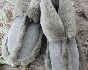 Traditional Sheepskin Slippers