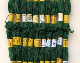 108 Yards DMC 3-Ply Needlepoint/Crewel Yarn 7385 Green