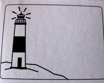 Light House Embossing Folder