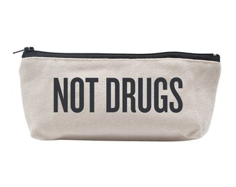 "Basic Makeup Bag | ""Not Drugs"""