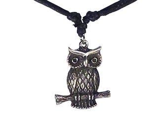 Owl of Wisdom Amulet