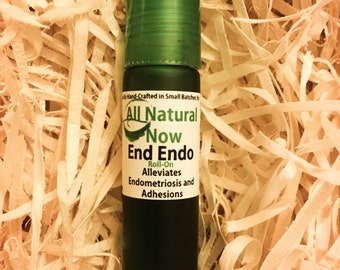 End Endo Essential Oil Blend/100% Pure & Therapeutic Essential Oils/Roll-On/Endometriosis