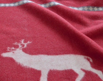 Wool throw - Christmas throw gift - Wool blanket - Christmas 2018 - Christmas gift idea - Christmas 2018 gifts - Christmas gift wool