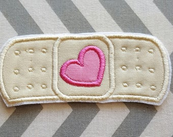 Doctor Bandage Iron on No Sew Embroidered Patch Applique