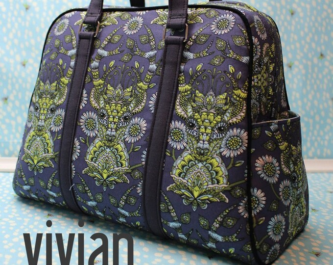 Vivian Handbag & Traveler - Swoon Patterns - Bag Pattern