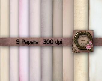 Neutral Digital Paper: Scrapbooking Digital Paper, Digital Download Paper, Neutral Paper, Printable Instant Download, Commercial No. 954A.