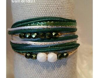 Bracelet girls multiliens Bohemian faceted beads