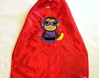 Team Super Animals - Banana Monkey Red Cape